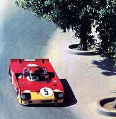 Targa Florio 1972. Helmut Marko / Nanni Galli , Alfa Romeo T33/TT/3.