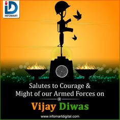 On the occasion of Let's Pay tribute to soldiers who lost their lives in 1971 Indo-Pak war. Every Indian is proud of their sacrifice. Navi Mumbai, Indian Army, Armed Forces, Soldiers, Brave, Lost, War, Let It Be, Digital