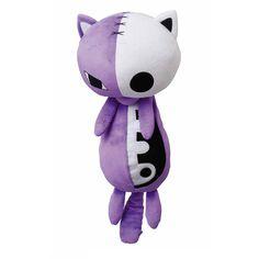 Honekoneko – Panty & Stocking with Garterbelt Plush Doll 2 | Japanese Anime Figures found on Polyvore