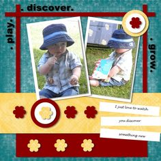 scrapbook pages images | Scrapbook Printing - Print your 8x8 & 12x12 Scrapbooking Pages