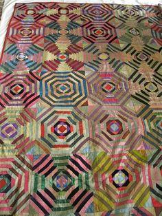 Silk Pineapple quilt
