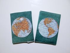 Special passport cover printed with an ancient map of the world on both sides. Great gift for travelers, and also if you plan to take a trip yourself.