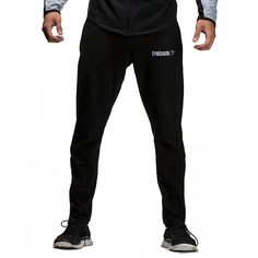 GymSharkFit Tapered Bottoms - Black Men's featured clothing | GymShark International | Innovation In Fitness Wear