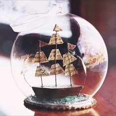 ship in a bauble!