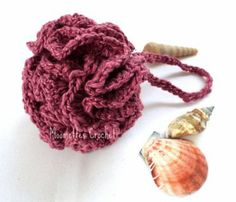 #Bath Pouf Loofah Scrubber Wash Cloth Cotton Teal Pink Rose #Orchid #Handmade http://moomettescrochet.ecrater.com/p/19427257/bath-pouf-loofah-scrubber-wash