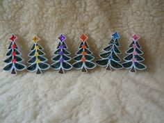 2014 Christmas decorations - my own original designs - Facebook.com/Zen Quilling
