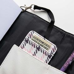 A great way to keep your ID and cash handy is by using the ID Card Holder and clipping it securely to the elastics in your Trifolio & Go or your TulaXii Organizer. . . . #organizedwallet #walletchain #idholders #idholder #tnwallet Wallet Chain, Id Holder, Planners, Reusable Tote Bags, Chanel, Organization, Accessories, Organisation, Organizers