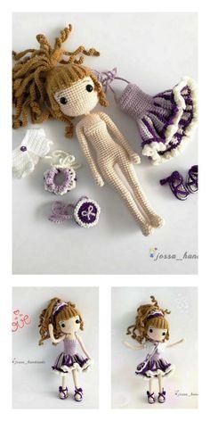 Amigurumi Little Baby Free English Pattern – Amigurumi Crochet Amigurumi Free Patterns, Crochet Doll Pattern, Crochet Toys, Free Crochet, Crochet Baby, Crochet Ornaments, Amigurumi Doll, Crochet Scarves, Crochet Projects