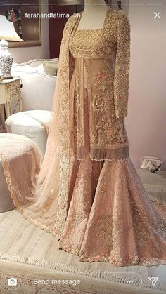 Nov 2019 - Latest Pakistani Designers Bridal Dresses & Embroidery Collections, Wedding Lehenga, Sharara best price for every woman Shop from our Elegant Asian Wedding Dress, Pakistani Wedding Outfits, Pakistani Bridal Dresses, Pakistani Wedding Dresses, Pakistani Dress Design, Bridal Outfits, Indian Dresses, Pakistani Designers, Pakistani Couture