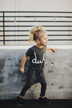5 Cool Looks for Babies & Kids – Petit & Small – KinderMode Fashion Kids, Little Girl Fashion, My Little Girl, Toddler Fashion, Little Ones, Fashion Clothes, Baby Swag, Amusement Enfants, Cooler Look
