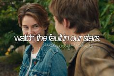 Watch the fault in our stars ✔ 8 February 2016- Not my kind of movie but glad I've seen it