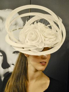 Dawn Guibert design~ Ladies Hat~ Kentucky Derby.