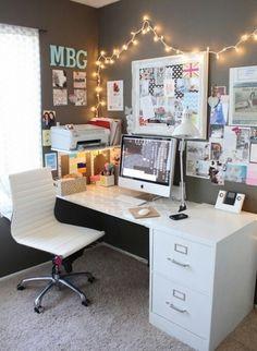 Con este escritorio tan bonito seguro que tendré la habitación súper ordenada. Dará gusto trabajar así.