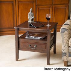Christopher Knight Home Rodgers End Table | Overstock™ Shopping - Great Deals on Christopher Knight Home Coffee, Sofa & End Tables