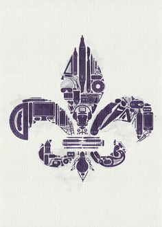 le Fleur de Lis by CHIN2OFF.deviantart.com on @DeviantArt