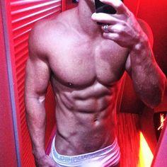 Joss Mooney does a 6pack mirror selfie in his briefs