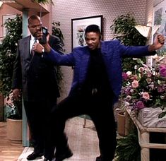 """Pin for Later: Will Smith's Dopest Fresh Prince of Bel-Air Dance Moves The """"Oh, This Is My Jam!"""" Leg Stomp"""