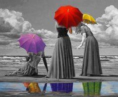 Umbrellas colors