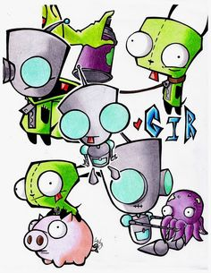 Bundle of Gir. by Skissored.deviantart.com on @deviantART