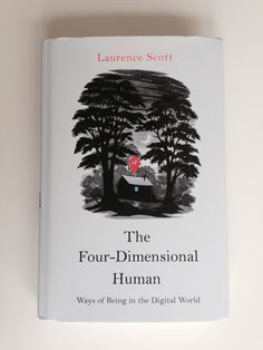 'The Four-Dimensional Human' Book Jacket illustrated by Andrew Davidson