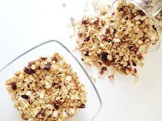 Selbstgemachtes Müsli | einfach, schnell und gesund! Homemade Granola - simple, healthy, easy and delicious!