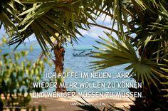 """Mein Papa sagt... Ich hoffe im neuen Jahr wieder mehr wollen zu können und weniger müssen zu müssen. Hans """"Johnny"""" Klein  #Zitate #deutsch #quotes      Weisheiten & Zitate TÄGLICH NEU auf www.MeinPapasagt.de"""