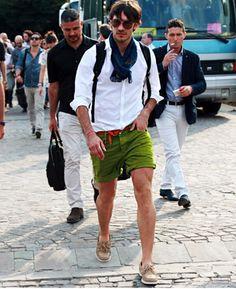 greenery a cor de 2017 verde moda masculina. Short Masculino Verde (1)