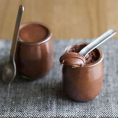 The Best Chocolate Mousse of Your Life under 5 minutes (and using only two ingredients).