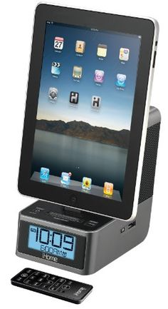 iHome iD37GZC 30-Pin iPod/iPhone/iPad Alarm Clock Speaker Dock. Want it? Own it? Add it to your profile on unioncy.com #gadgtes #tech #electronics