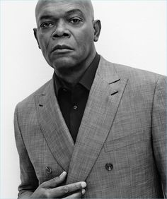 Gregory Harris photographs Samuel L. Jackson for Brioni's spring-summer 2017 campaign.