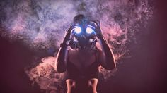 #Gas #Mask Wallpaper HD http://goo.gl/fb/sqP3CA  #girls #smoke