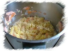 Pâtes au saumon 2