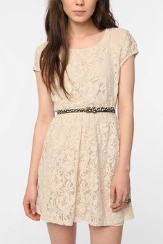 Summer lace dress.