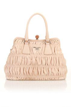 Prada Gaufre Handbag In Powder - Beyond the Rack