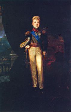 D.Pedro II em 1837