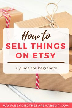 How to Sell Things on Etsy: What You Need to Know | Looking to monetize your craft hobby? This post covers everything you need to know about how to sell things on Etsy including fees and processes.