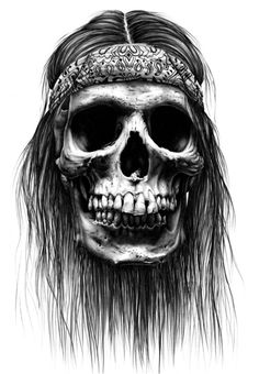 Check out this cool skull... #tattooinspiration