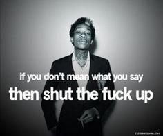you said it whiz