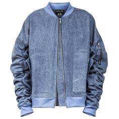 Informal Apparel IA-1 Bomber Jacket : Light Blue Denim  $140