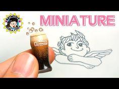 미니어쳐 엔제리너스 아메리치노 만들기 (누가 마시게될까 =ㅁ=) Miniature - Americcino 미미네 미니어쳐 ミミネミニチュア - YouTube