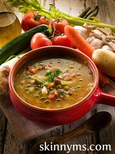 8 Skinny Soups & Stews Under 275 Calories