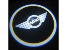 Mini Cooper Puddle Light Lens Set - Mini Logo