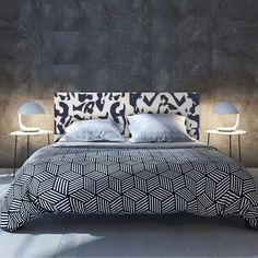 Cabecero de cama con un diseño único. #cabecerosdecama #decoración #dormitorio #kamasutra #dulcessueños