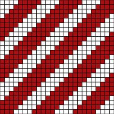 When crocheted in red and white, this diagonal stripe design resembles a candy cane. You can go with the candy cane theme, or adapt the design in other ways.
