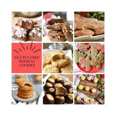 Gluten Free Christmas Cookies - Living Freely Gluten Free Best Gluten Free Cookies, Gluten Free Christmas Cookies, Gluten Free Cookie Recipes, Holiday Cookies, Christmas Desserts, Us Foods, Chocolate Chip Cookies, Delish, Low Carb