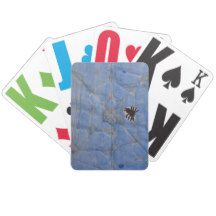 Art by Children, Spider with cobweb, drawing Bicycle Playing Cards