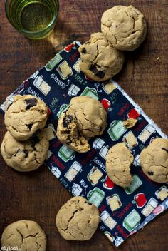 WOWButter Chocolate Chunk Cookies recipe from Jelly Toast. WOWButter is soy butter, a peanut-free, tree-nut-free peanut butter alternative commonly available at grocery stores.