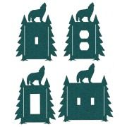 Wolf Pines Switch Plate Outlet Covers