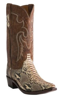 Lucchese Handcrafted 1883 Python Cowboy Boots - Snip Toe - Sheplers