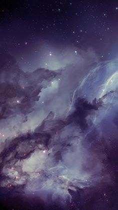 Nebula iPhone 5 Wallpaper